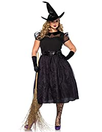 Leg Avenue Women's Plus-Size Darling Spellcaster Costume