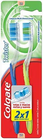 Escova Dental Colgate Twister 2Unid Promo Leve 2 Pague 1