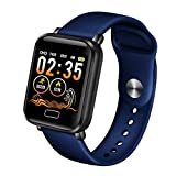 LIGE Fitness Tracker HR, Activity Tracker Watch with Heart Rate Blood Pressure Monitor, Pedometer IP67 Waterproof Sleep Monitor Step Calorie Counter for Men Women Kids