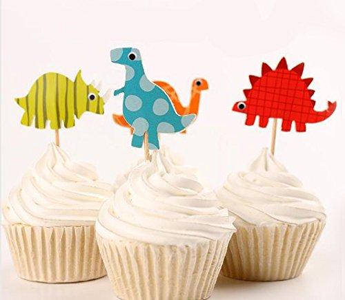 24-Dinosaur-Cupcake-Toppers-Picks-Red-Fox-Tail-TM