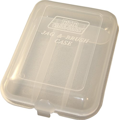 (MTM Jag and Brush Case (Clear))