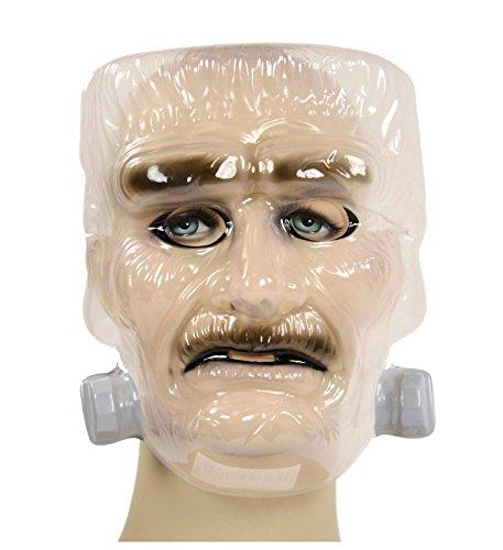 Frankenstein Doctor Costume (Men's Frankenstein Mask Clear (One Size))