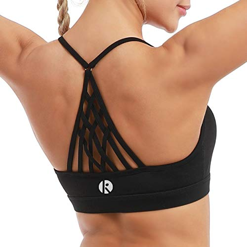 CLUCI Sports Bras for Women Racerback High Impact Seamless Support Activewear for Yoga Gym Workout Fitness