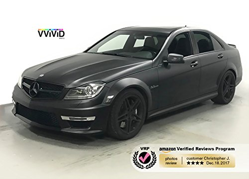 VViViD XPO Matte Black Vinyl Wrap Kit (Extra-Large Roll (240'' x 60'')) by VViViD (Image #6)