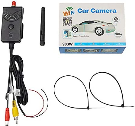 150° WiFi Wireless Car Rear View Cam Backup Reverse Camera Monitoring Device YEH