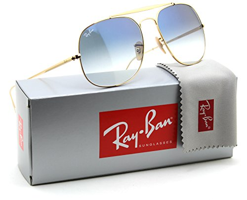 Ray-Ban RB3561 Genaral Unisex Gradient Sunglasses 001/3F - - Black General The Ban Ray