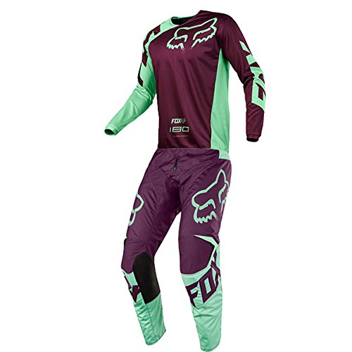 Series Race Pants (Fox Racing 180 Race Green Jersey/ Pant Combo - Size LARGE/ 32W)