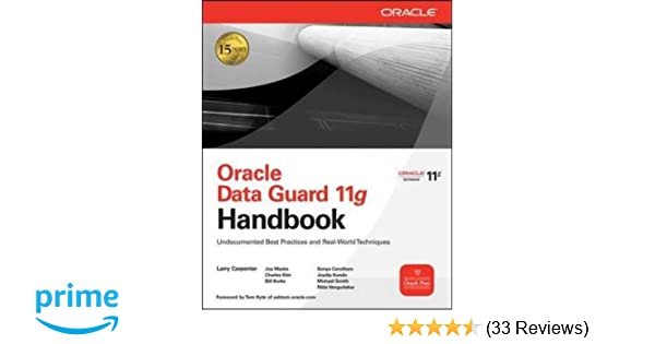 Oracle data guard 11g handbook oracle press 9780071621113 oracle data guard 11g handbook oracle press 9780071621113 computer science books amazon fandeluxe Choice Image