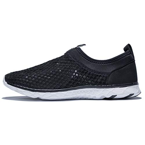 KENSBUY Men's Summer Mesh Shoes,Outdoor Beach Aqua Shoes,Running,Walking EU41 Black by KENSBUY (Image #3)