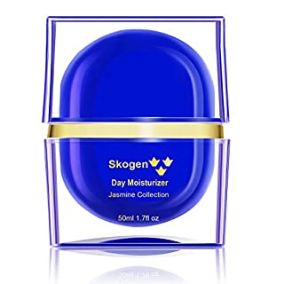 Skogen Premium Day Moisturizer Jasmine Collection Daily Anti-Aging, Deep Moisturizing, Smoothing Skin Care Cream for Wrinkles & Fine Lines, 50ml