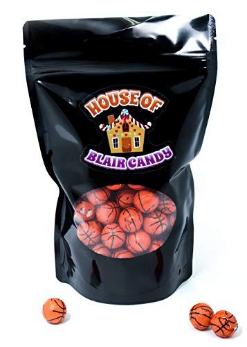 (Chocolate Covered Basketballs - Bulk Chocolate Basketball Candy - 1 Pound - Approximately 80)