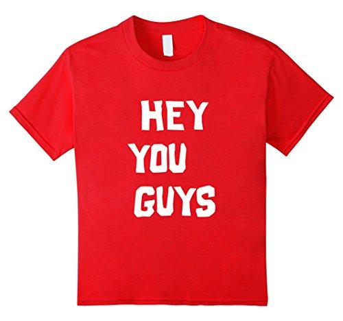Kids Hey You Guys | Halloween Group Costume 4 Red -