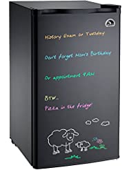 Igloo FR326M-D-BLACK Erase Board Refrigerator with