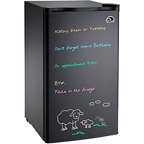 Ordinaire Igloo FR326M D BLACK Erase Board Refrigerator With Neon Markers, 3.2 Cu.  Ft., Black