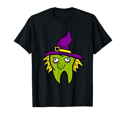 Dentist Witch Dental Hygienist Halloween Costume Tooth -