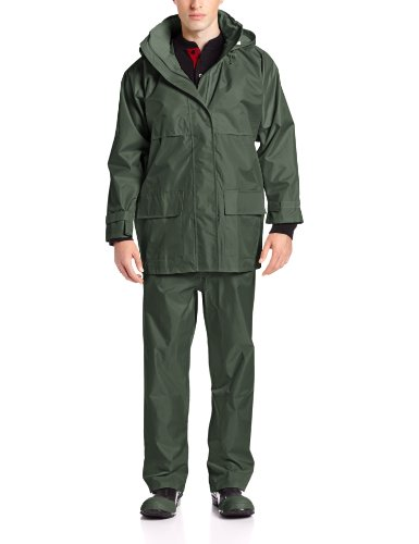Viking Open Road Waterproof Industrial 3-Piece Suit, Forest Green, 3X-Large