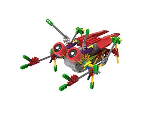 - LOZUSA B/O Robot 122 PCS Motorial Alien Robot Educational STEM Robotic Building Set Block Toy, Battery Operated Motor, 3D Puzzle Design Alien Primate Robot Figure for Kids and Adults