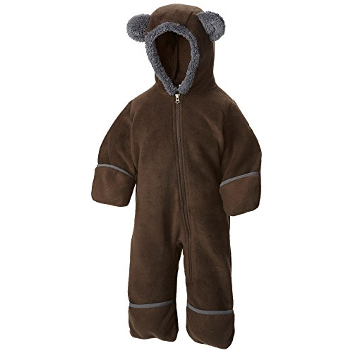 Columbia Baby Tiny Bear II Bunting, Bark, 6-12 Months