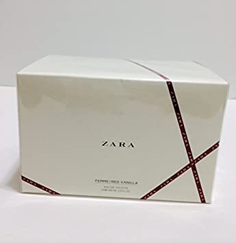 Amazoncom Zara Femme Red Vanilla Eau De Toilette 2 X 100ml34