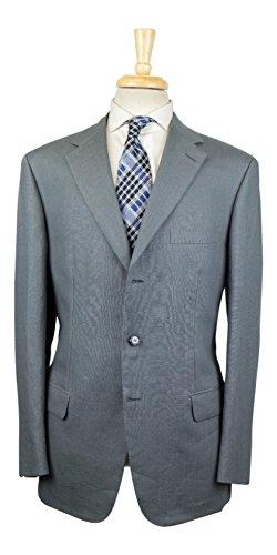 brioni Parlamento 21 Gray Linen 3/2 Button Suit Size 52/42 R (Brioni Linen Suit)