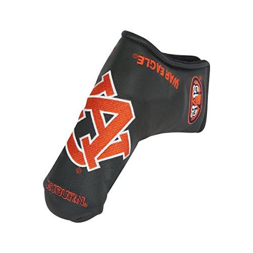 Team Effort Auburn Tigers Black Blade Putter Cover