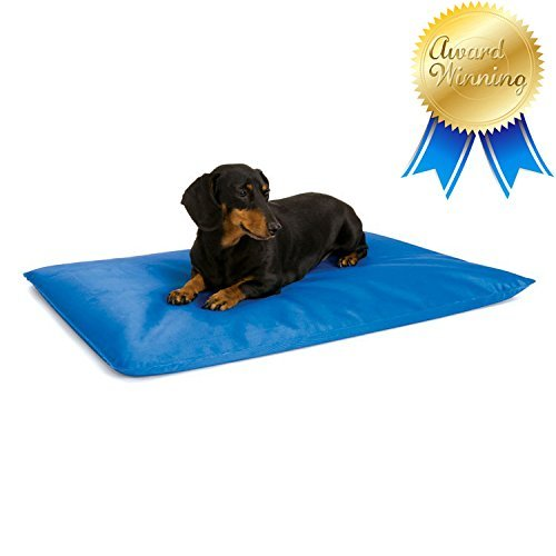 Kh Cool Bed (K&H Cool Bed III Cooling Dog Bed / Pad / Mat (Blue, Small - 17