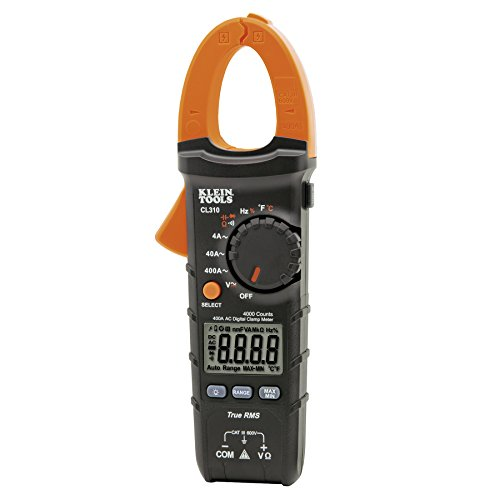 Klein Tools CL310 AC Auto-Ranging 400 Amp Digital Clamp Meter