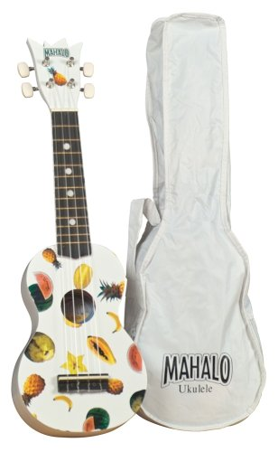 Mahalo UK-30W Ukulele Kit White