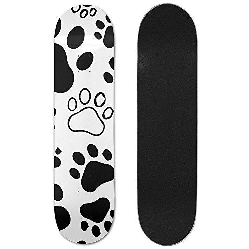 Dog Prints Maple Games Skateboard Longboards Deck Print School Skateboard Long Plate Double Play Scooter - Title 9 Sunglasses