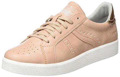 Esprit Damen Gweneth Lacer Chaussures De Sport Beige (685 Nu)