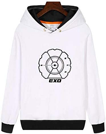 秋 冬 応援グッズ ファッション ウェット EXO VIP 長袖 男女兼用 パーカー 韓国アイドル 周辺 グッズ