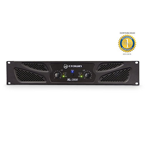Crown XLi 3500 2-channel, 1350W Power Amplifier with 1 Year EverythingMusic Extended Warranty Free -  XLI3500