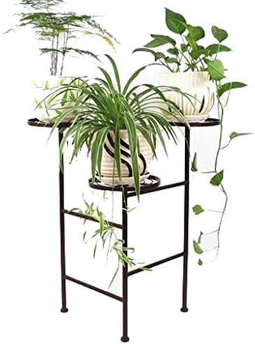 植物スタンド花スタンド クリエイティブ錬鉄製のフロアスタンドモダンなリビングルームのベッドルームのディスプレイスタンド