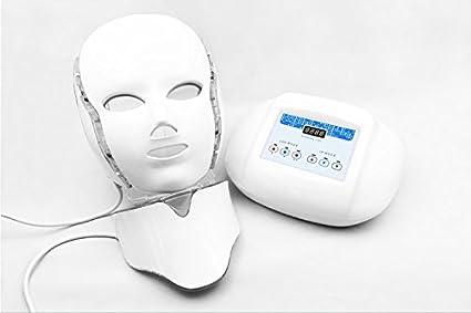 csby LED Color luz terapia cuello máscara facial Belleza aparato con belleza anfitrión eléctrico Rejuvenecimiento Facial