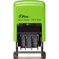 Shiny PET-300 Self-inking Date Stamp (3.8mm Character Height)