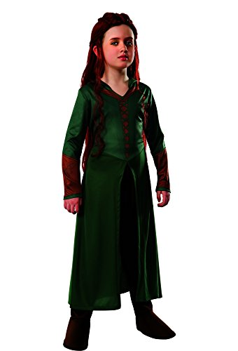 Tauriel Elf Costumes (The Hobbit: Desolation of Smaug, Child Tauriel Costume, Small - Small One Color)