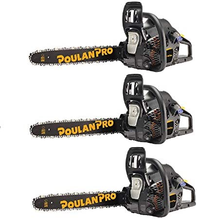Poulan Pro 18 Bar 2 Cycle Gas Powered Chainsaw (Certified Refurbished) (3 Pack) / Poulan Pro 18 Bar 2 Cycle Gas Powered Chainsaw (Certified Refurbished) (3 Pack)