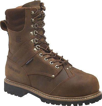 Work Boots, Mens, 10, E, Thinsulate, 8inH, PR ()
