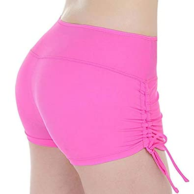 Amazon.com | CUSHY Quick Dry able Women Yoga Hort Port ...