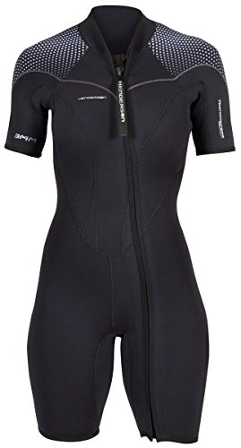 ac5a27944d Henderson Women s 3mm Thermoprene Pro Front Zip Shorty Wetsuit