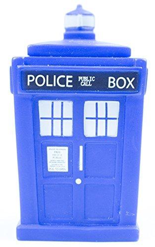 Doctor Who Titans 3 inch Vinyl Figure, Series 2 10th Doctor Set, TARDIS