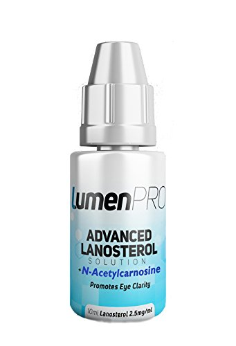 LumenPro Pet Eye Drops || Powerful Lanosterol and N-Acetylcarnosine (NAC) Combination || Premium Pet Eye Drops