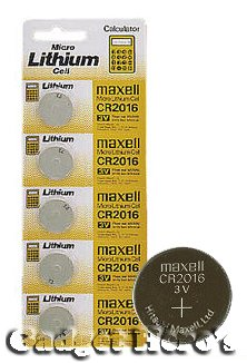 FOXMICRO CR2016 3V Lithium Coin Cell Battery (Pack of 5)-FM General Purpose Batteries & Battery Chargers at amazon