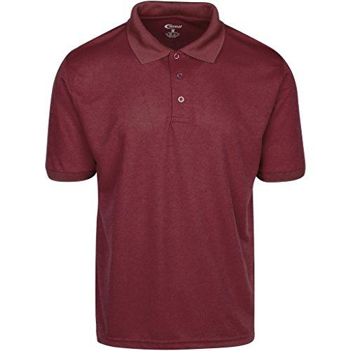Mens Burgundy Drifit Polo Shirt 4XL