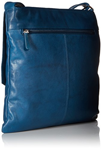Jeans Handbag Canada Leather body Cross Large Blue gfU8qT
