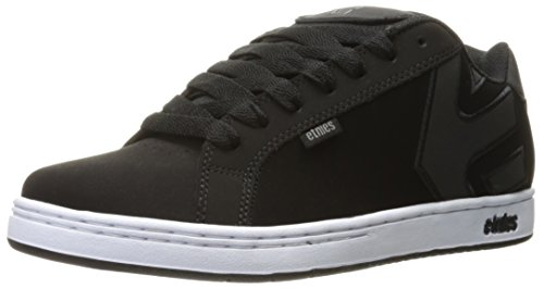 Etnies Fader, Color: Black/White/Silver, Size: 40 Eu / 7.5 Us / 6.5 Uk
