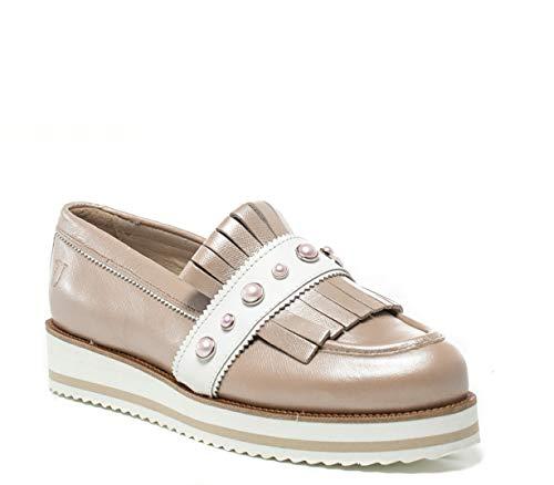 T Pink Mocassini 79a00190 Donna Jeans Trussardi 39eu 6qf4wXxS