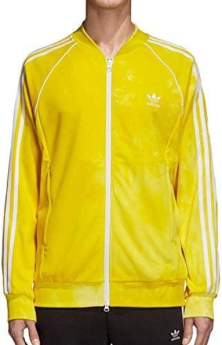 Pharrell Williams Hu Holi SST Track Jacket Yellow XL Mens