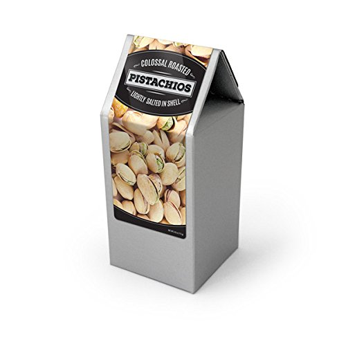 Pistachios, Roasted & Salted, Silver Box 48/4oz by In-Room Plus, Inc.