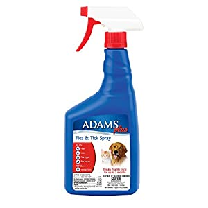 Adams Plus Flea and Tick Spray for Cats and Dogs 9